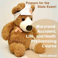 Maryland - Life, Accident, and Health Pre-licensing Course