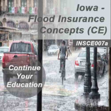 Iowa: 3 hrs CE - Flood Insurance Concepts