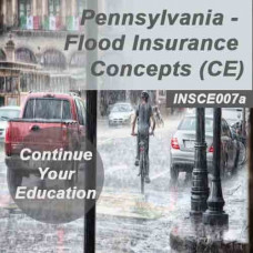 Pennsylvania: 6hr CE - Flood Insurance Concepts