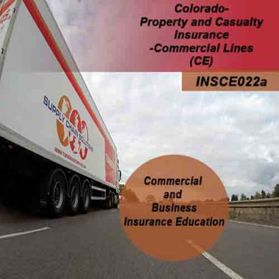Colorado - Property and Casualty Insurance - Commercial Lines (3hrs CE)