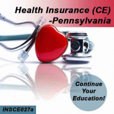Pennsylvania: 8hr CE - Health Insurance