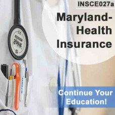 Maryland: 8hr CE - Health Insurance
